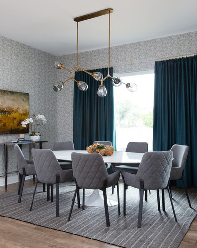 Contemporary Dining Room by BANDD DESIGN