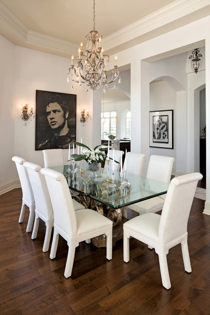 Contemporary Dining Room by Savvy Decor