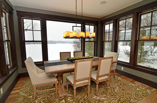 Contemporary Dining Room by Highmark Builders