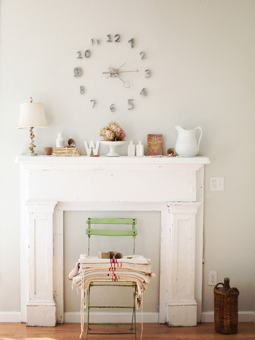 Mantle Without Fireplace Houzz