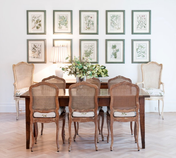 Contemporary Dining Room by Allpress Antiques
