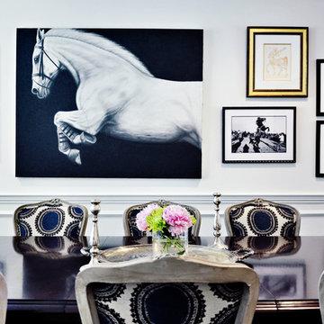 Drew McGukin Interiors - Boston Dining Room