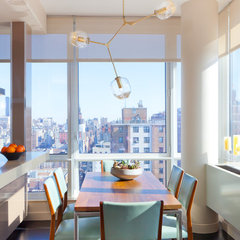 contemporary dining room by Drew McGukin Interiors