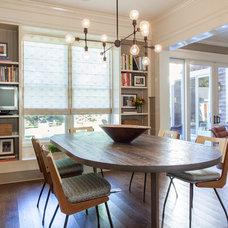 Contemporary Dining Room by Drew McGukin Interiors @drewmcgukin