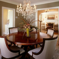 Traditional Dining Room by Martha O'Hara Interiors