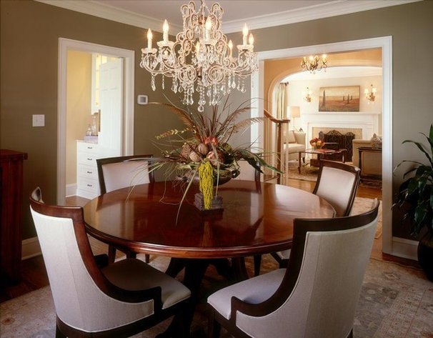 Traditional Dining Room by Martha O'Hara Interiors