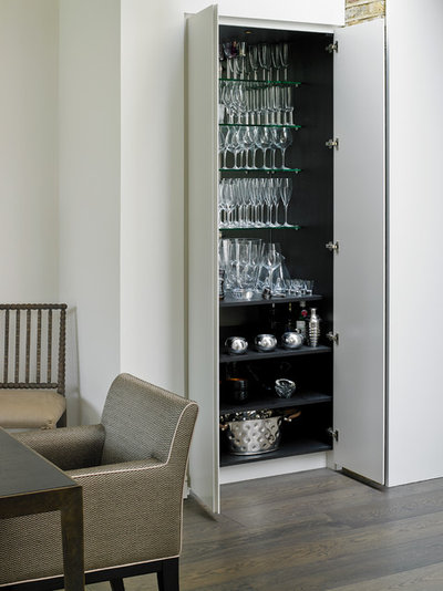 Contemporary Dining Room by Brayer Design