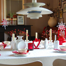 Eclectic Dining Room by Kaylovesvintage