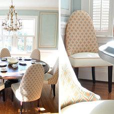 Eclectic Dining Room by evaru design