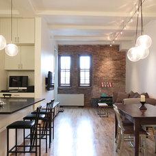 Modern Dining Room by Maletz Design