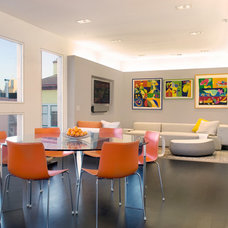 Modern Dining Room by Dumican Mosey Architects