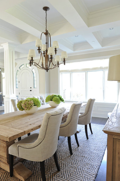 Traditional Dining Room by Kerrisdale Design Inc