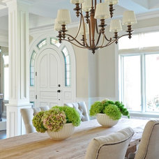 Contemporary Dining Room by Kerrisdale Design Inc