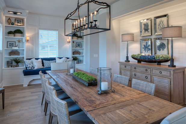 Beach Style Dining Room by Group3