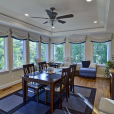 Traditional Dining Room by Weidmann Remodeling