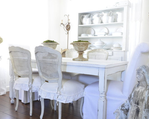 shabby chic dining room | houzz