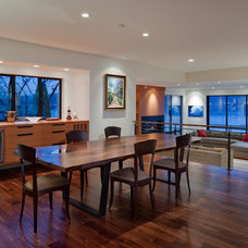 Contemporary Dining Room by Dyna Contracting