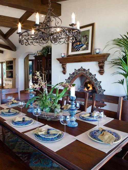 Spanish Style Fireplace Houzz