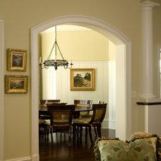 Mediterranean Dining Room by Solaris Inc.