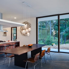 Contemporary Dining Room by Gary Gladwish Architecture