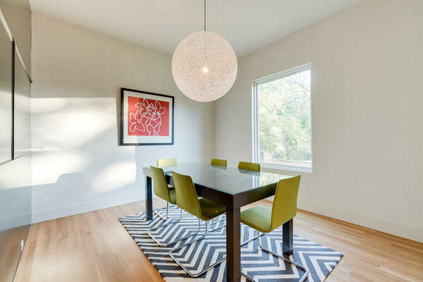 Contemporary Dining Room by Durham Builders