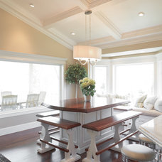 Traditional Dining Room by Barton Woodworks
