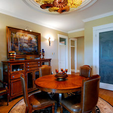Traditional Dining Room by Ula's Studio & Showroom