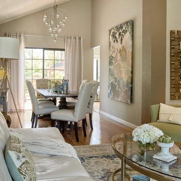 East Bay Contemporary Living Room