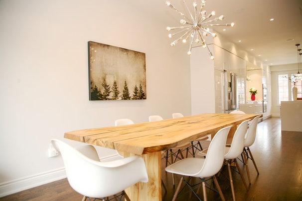 Modern Dining Room by barlow reid design