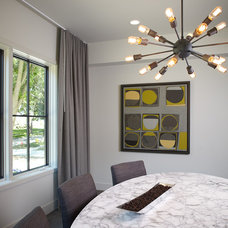 Contemporary Dining Room by Rock Kauffman Design