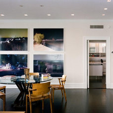Modern Dining Room by Michael Richman