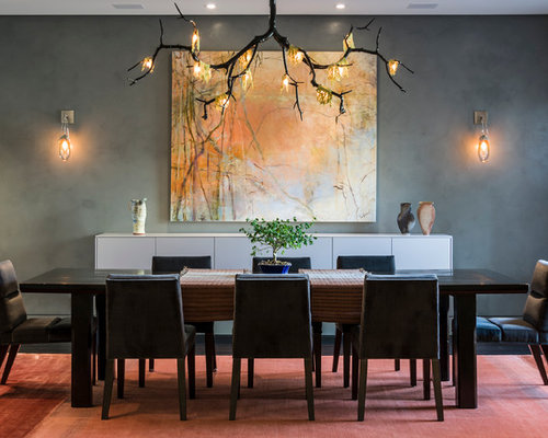 Contemporary Dining Room Design Ideas Remodels  Photos