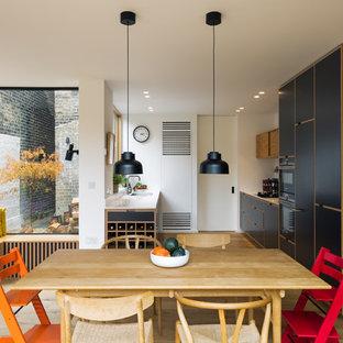 East London Bespoke Plywood Kitchen