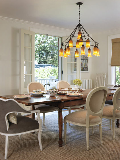 Traditional Dining Room by Taste Design Inc