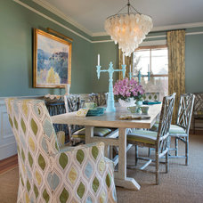Eclectic Dining Room by Digs Design Company