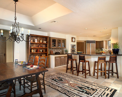 Southwestern dining room design ideas remodels photos for Dunn edwards paint tucson