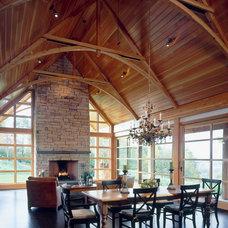 Rustic Dining Room by TruexCullins Architecture + Interior Design