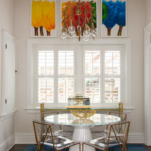 Transitional dining room photo in Richmond