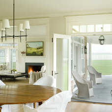 contemporary dining room by Aquidneck Properties