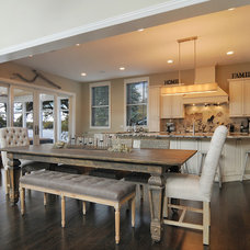 Contemporary Dining Room by A. Perry Homes
