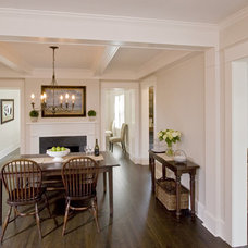 Traditional Dining Room by Clawson Architects, LLC