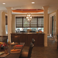 Traditional Dining Room by Interior Changes home design