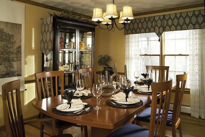 Contemporary Dining Room by Decorating Den Interiors-Strok Design Team