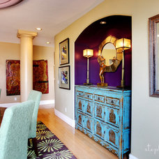 Eclectic Dining Room by Stephanie Wiley Photography