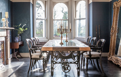 Nice Houzz Tours Houzz Tour Vintage Finds and Period Details in Northern Ireland