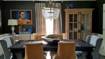 Eclectic, Bold Dining Room