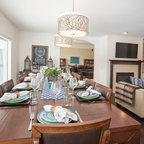 Jones design company eclectic dining room salt lake for Jones design company dining room