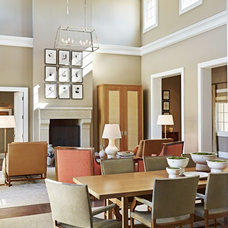 Traditional Dining Room by David Michael Miller Associates