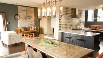 Eclectic Diamond Heights Home — Multi-room Angle