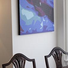 Eclectic Dining Room by BiglarKinyan Design Planning Inc.
